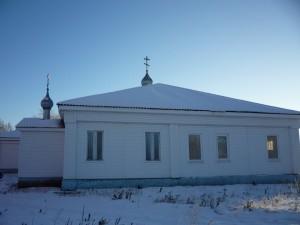 Храм снаружи