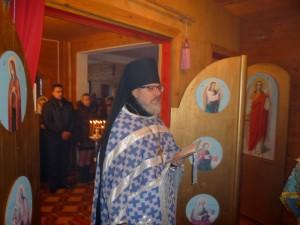 Первая Литургия на Рождество Христово 7 января 2013 г.