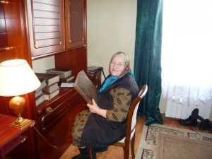 Псаломщица Феодосия Ивановна Бровкина