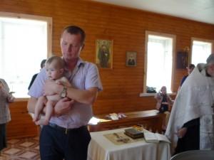 Первые крестины 2 мая 2013 г.