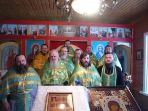 Соборное служение и собрание благочиния 3 февраля 2014 г.