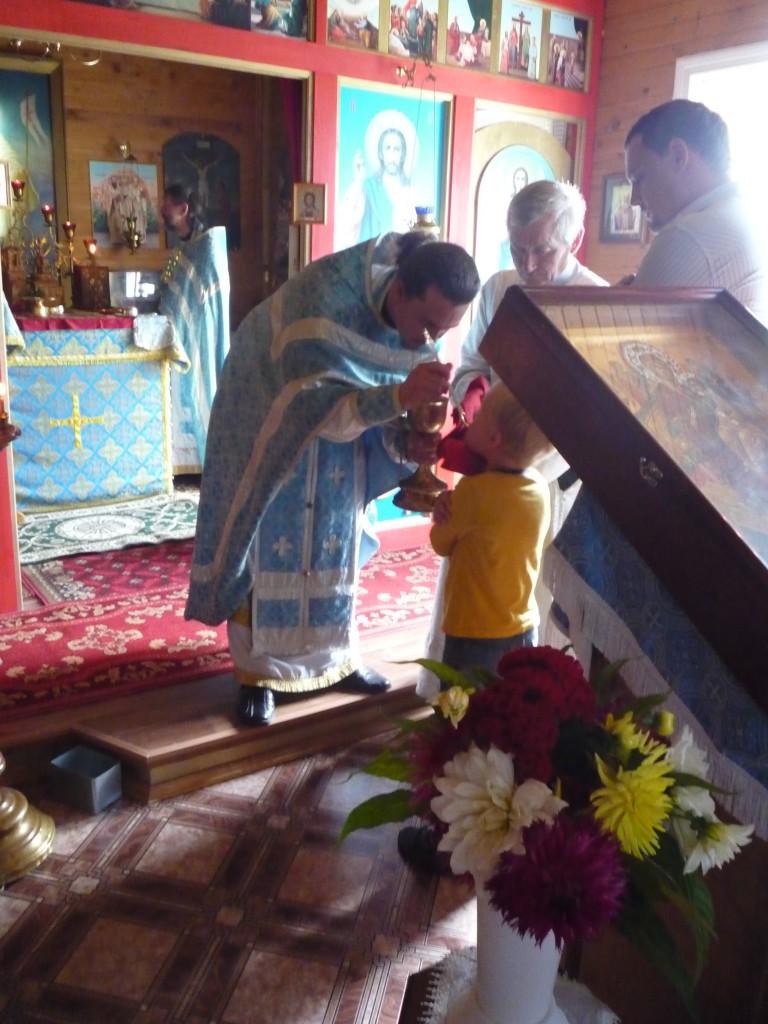 Пребывание образа Божией Матери, именуемой Пантанасса (Всецарица) на нашем приходе